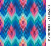 abstract ethnic ikat pattern... | Shutterstock .eps vector #766302148