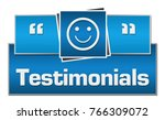 testimonial concept image with... | Shutterstock . vector #766309072