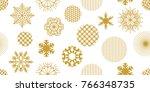 beautiful festive christmas... | Shutterstock .eps vector #766348735