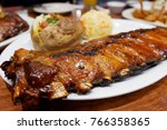 food lunch dinner | Shutterstock . vector #766358365