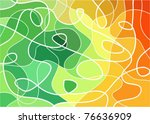 abstract geometric mosaic... | Shutterstock .eps vector #76636909