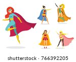 vector illustration in flat... | Shutterstock .eps vector #766392205