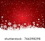 abstract christmas background. | Shutterstock . vector #766398298