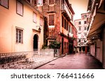 corfu town by autumn   Shutterstock . vector #766411666