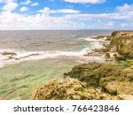 Panorama Of Cliffs And Wild...