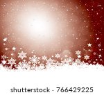 abstract christmas background. | Shutterstock . vector #766429225