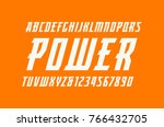 italic serif font in the sport... | Shutterstock .eps vector #766432705
