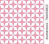 stars shape pattern background. ... | Shutterstock .eps vector #766433812