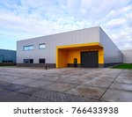 outside view of a small  empty... | Shutterstock . vector #766433938