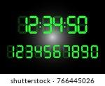 calculator digital numbers
