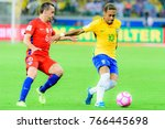 the match between brazil and... | Shutterstock . vector #766445698