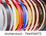 solid color or wood grain pvc... | Shutterstock . vector #766456072