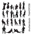 Set Of Women  Girls  Ladies ...