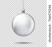 vector realistic transparent... | Shutterstock .eps vector #766474246
