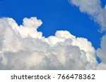thick cloud formation in sky... | Shutterstock . vector #766478362