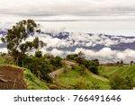 mountains in costa rica near... | Shutterstock . vector #766491646