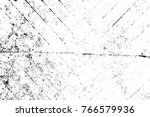 grunge black and white pattern. ... | Shutterstock . vector #766579936