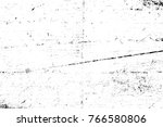 grunge black and white pattern. ... | Shutterstock . vector #766580806
