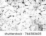 grunge black and white pattern. ...   Shutterstock . vector #766583605