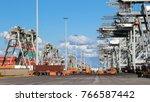 rotterdam  netherlands   sep 2  ... | Shutterstock . vector #766587442