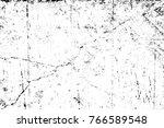 grunge black and white pattern. ... | Shutterstock . vector #766589548