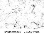 grunge black and white pattern. ... | Shutterstock . vector #766594906