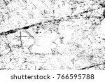 grunge black and white pattern. ... | Shutterstock . vector #766595788