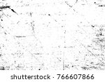 grunge black and white pattern. ... | Shutterstock . vector #766607866