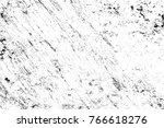 grunge black and white pattern. ... | Shutterstock . vector #766618276