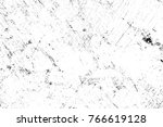 grunge black and white pattern. ... | Shutterstock . vector #766619128