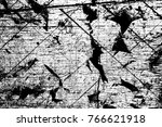 grunge black and white pattern. ... | Shutterstock . vector #766621918