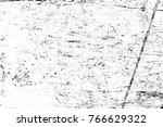 grunge black and white pattern. ... | Shutterstock . vector #766629322