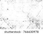 grunge black and white pattern. ... | Shutterstock . vector #766630978