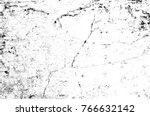 grunge black and white pattern. ... | Shutterstock . vector #766632142