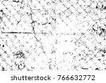 grunge black and white pattern. ... | Shutterstock . vector #766632772