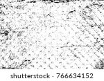 grunge black and white pattern. ... | Shutterstock . vector #766634152