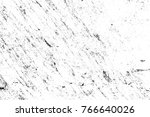 grunge black and white pattern. ... | Shutterstock . vector #766640026