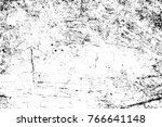grunge black and white pattern. ... | Shutterstock . vector #766641148