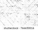 grunge black and white pattern. ... | Shutterstock . vector #766650016