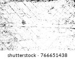 grunge black and white pattern. ... | Shutterstock . vector #766651438
