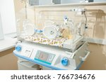 incubator for premature infants.... | Shutterstock . vector #766734676