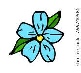 flowers vector illustration....   Shutterstock .eps vector #766740985