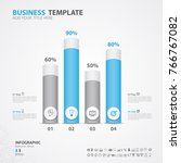 infographics elements diagram... | Shutterstock .eps vector #766767082