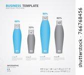 infographics elements diagram... | Shutterstock .eps vector #766768456