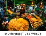 bangkok  thailand   november 18 ... | Shutterstock . vector #766795675