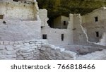 ancient cliff dwellings at mesa ... | Shutterstock . vector #766818466