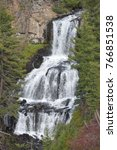 Undine Falls At Yellowstone...