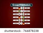 world cup russia 2018. match... | Shutterstock .eps vector #766878238