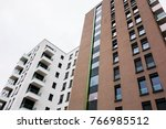 typical new builded houses at...   Shutterstock . vector #766985512