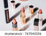 beautiful modern minimal nude...   Shutterstock . vector #767043256